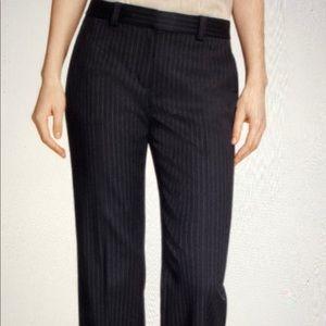 Brooks Brothers Red Fleece Wool Pinstripe Slacks